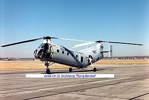 "CH-21 ""Workhorse"" ""Flying Banana"""