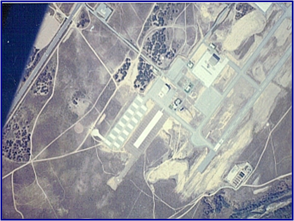 Fritzche Field; The drop zone for the Ft. Ord SPC.